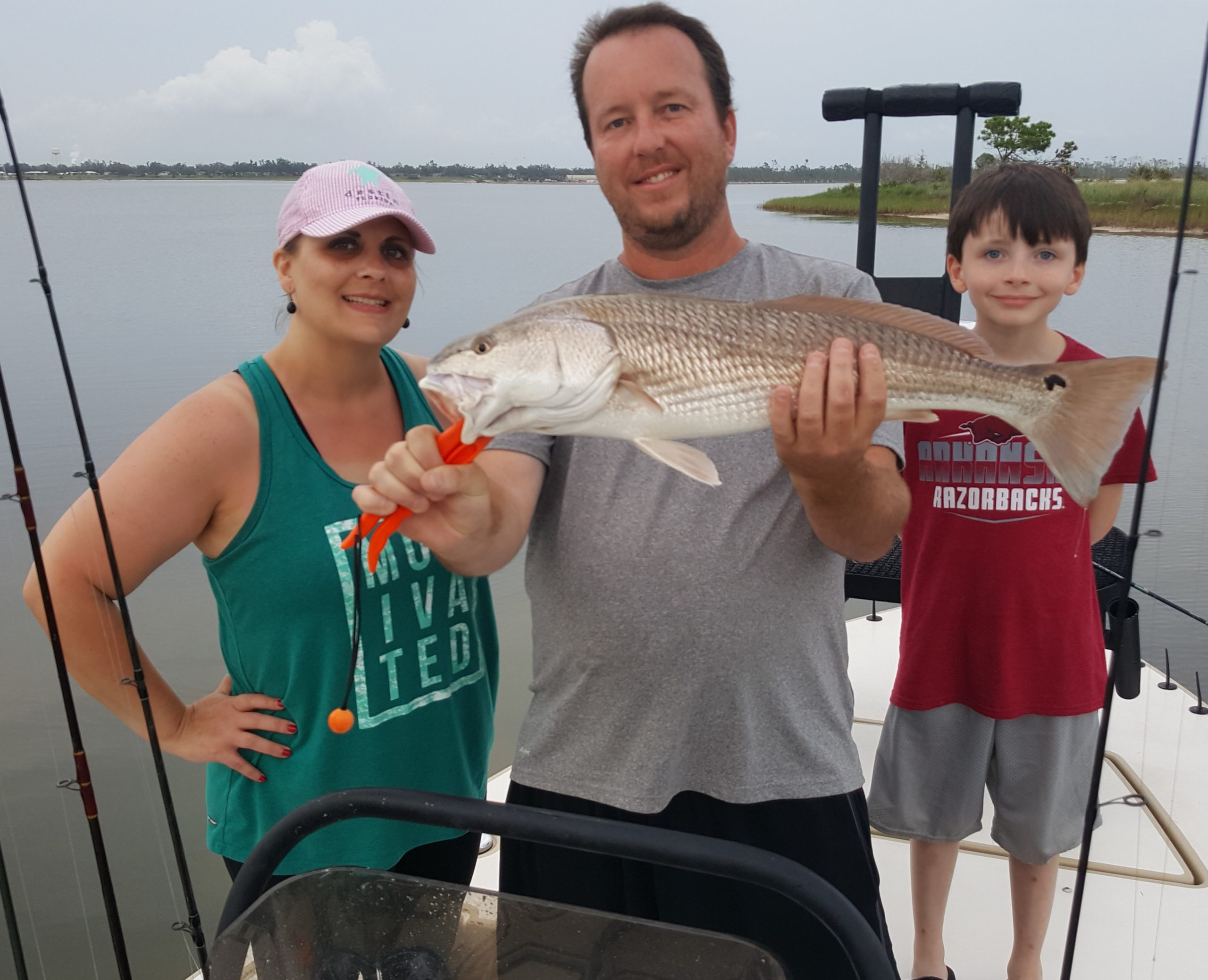 07 14 20 Brock and family with red